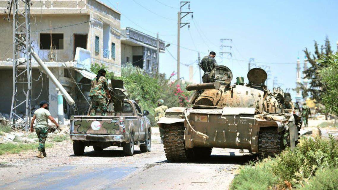 النظام السوري جنوب درعا