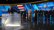 Opposition convention provides 'the alternative' solutions for Iran