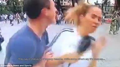 التحرش يطارد مذيعات المونديال.. شاهد ضحية إسبانية