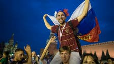 After shock Russia win, Moscow cleans up huge party mess