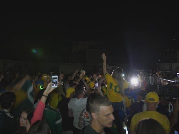 """رقصة """"السامبا"""" تستقبل بعثة البرازيل في سمارا الروسية"""