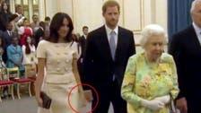میگن کی جانب سے ہیری کے ہاتھ کو چُھونے کی کوشش شاہی محل کی روایات کی مخالفت شُمار