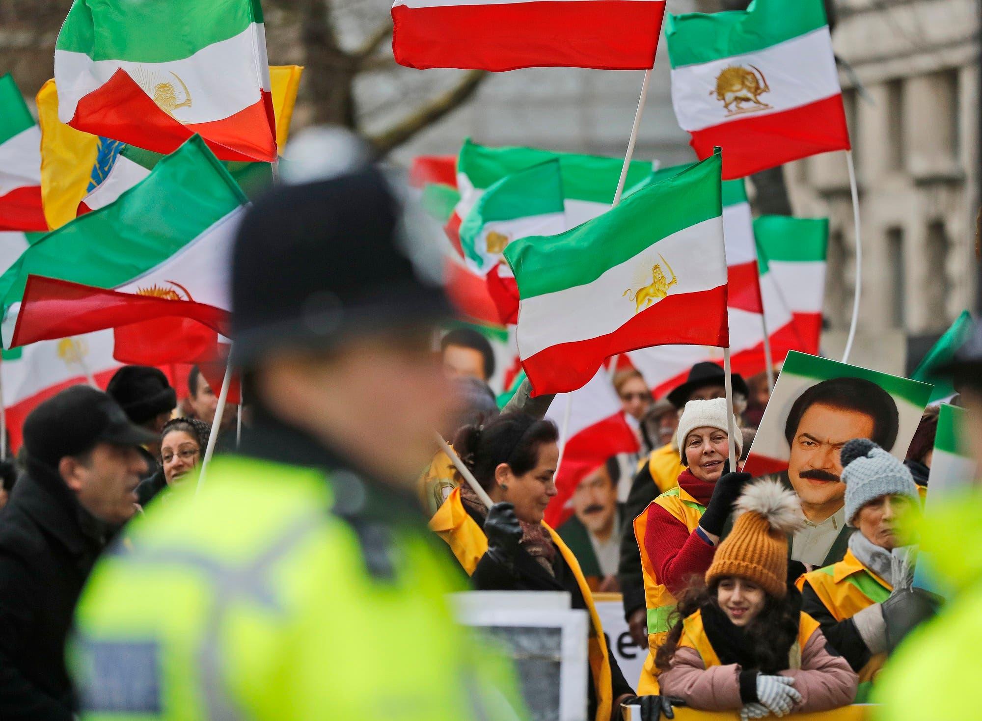 Iran NCRI rally britain. (File photo: AP)
