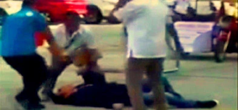 هاليلي انهار على الأرض بعد أن اخترقت الرصاصة صدره