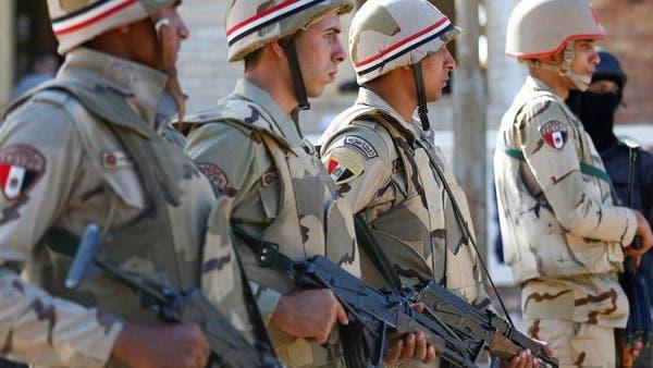 عناصر من الجيش المصري (أرشيفية)