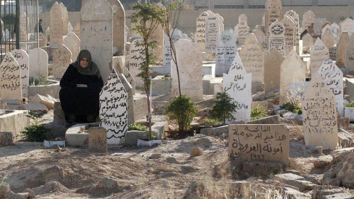 Raqqa Syria graves. (File photo: Reuters)