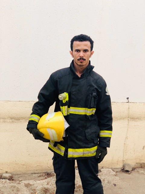 رجل الإطفاء البطل الحارثي