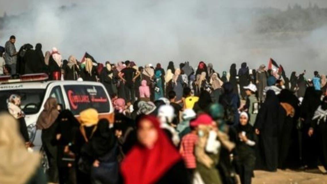 مسيرة نسائية - غزة