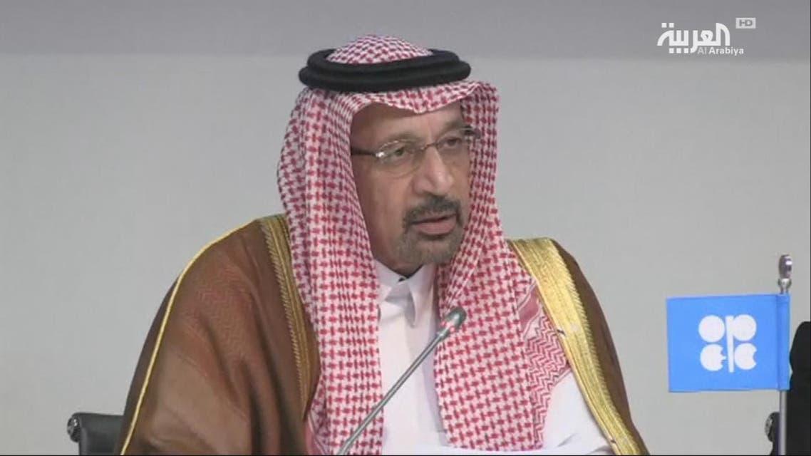 THUMBNAIL_ الفالح ونوفاك يناقشان قرار أوبك وحلفائها الأخير بزيادة إمدادات النفط