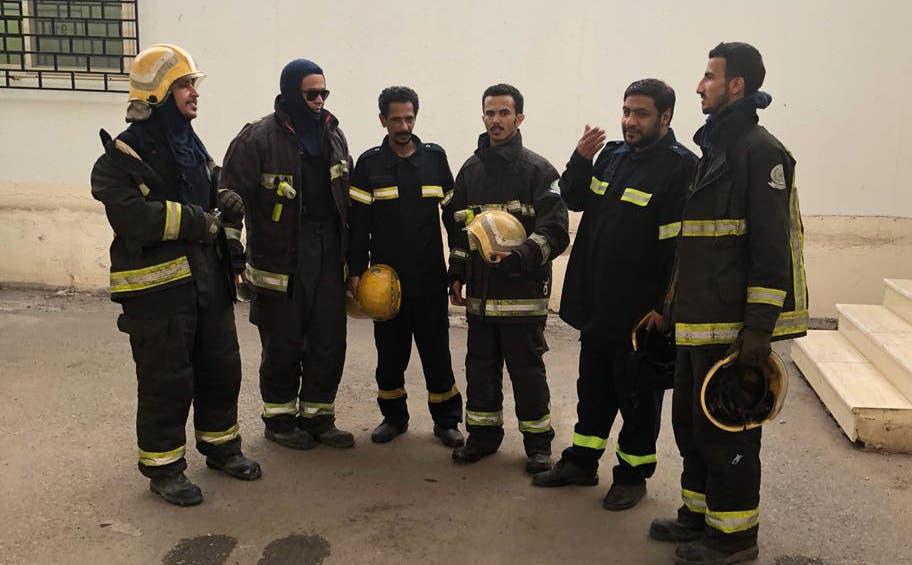فريق الإطفاء