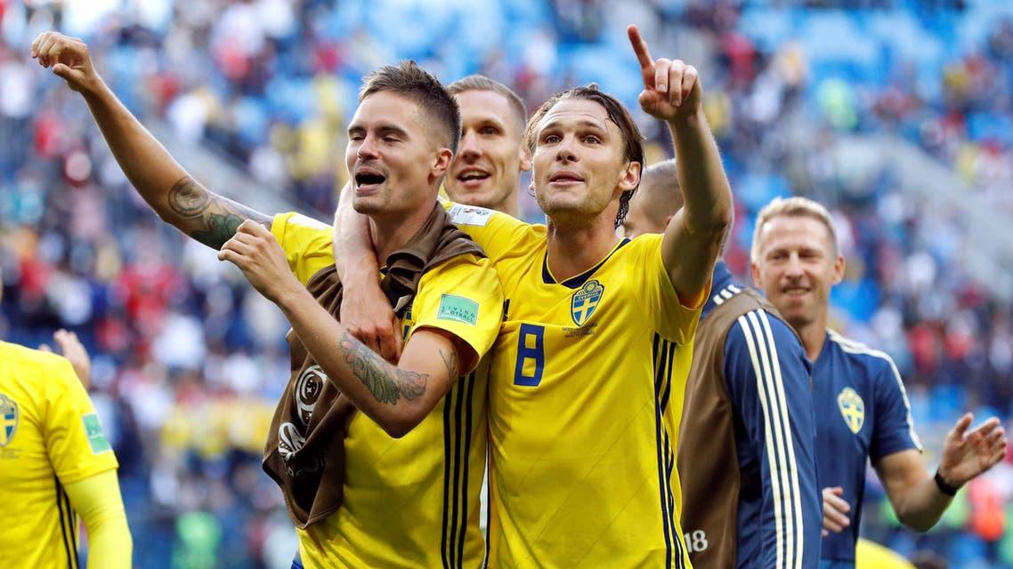 Sweden football team world cup. (Reuters)