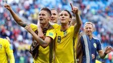 Sweden win scrappy Swiss encounter to reach World Cup quarterfinals