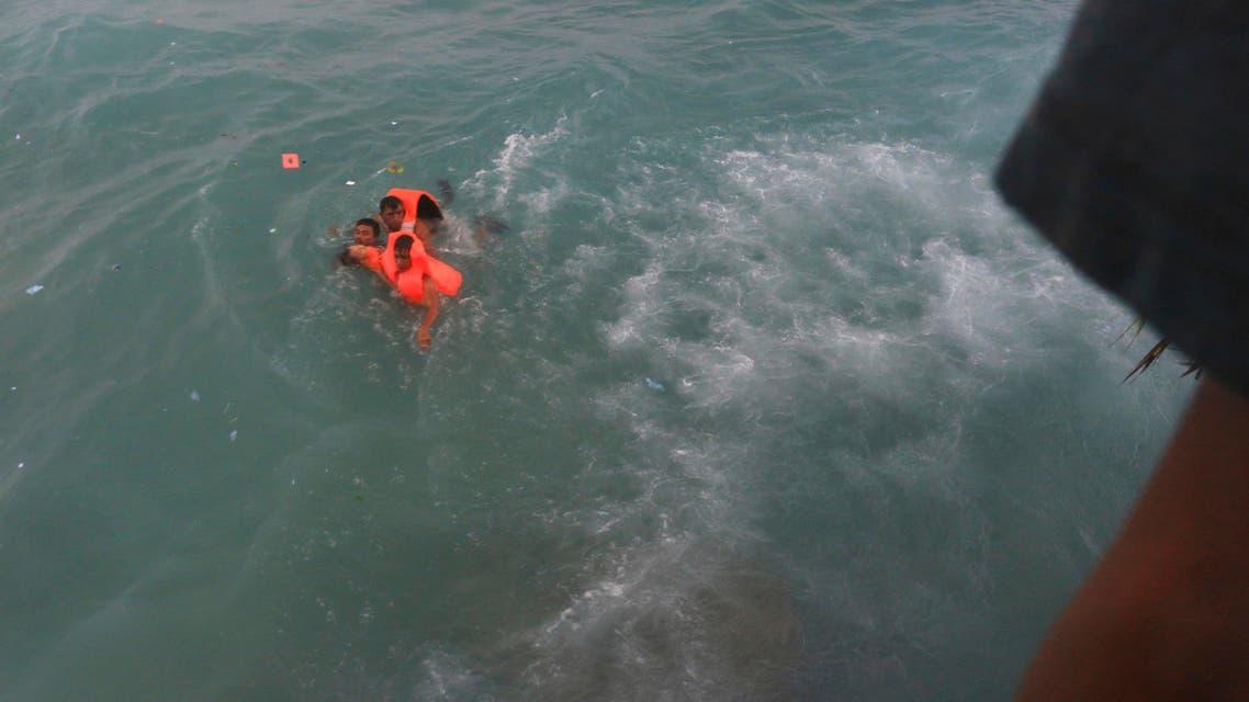 Indonesia ferry accident. (AP)