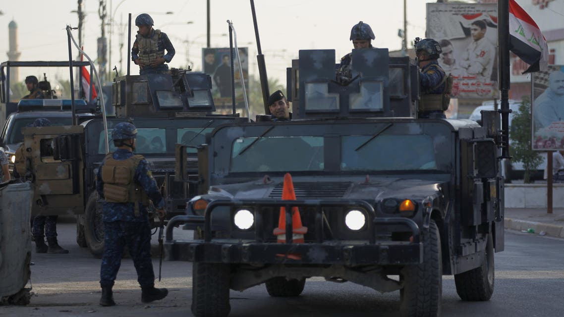 Tight security measures in Baghdad, Iraq (AFP)