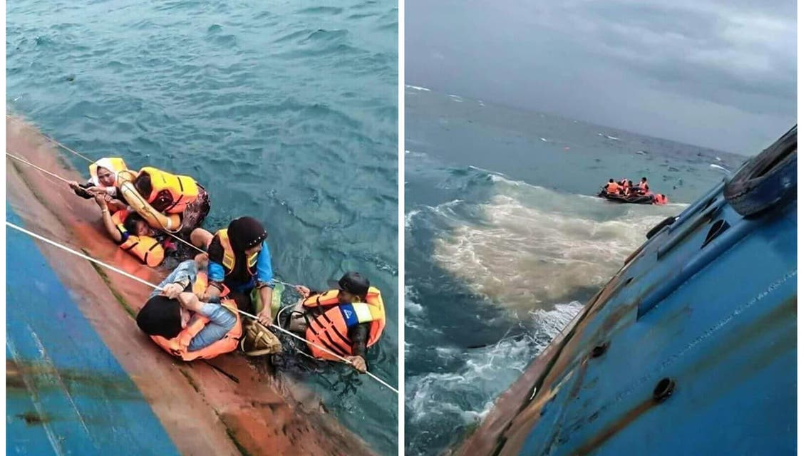 Indonesia ferry accident. (Reuters)