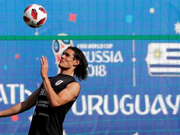 كافاني يعود إلى تدريبات أوروغواي