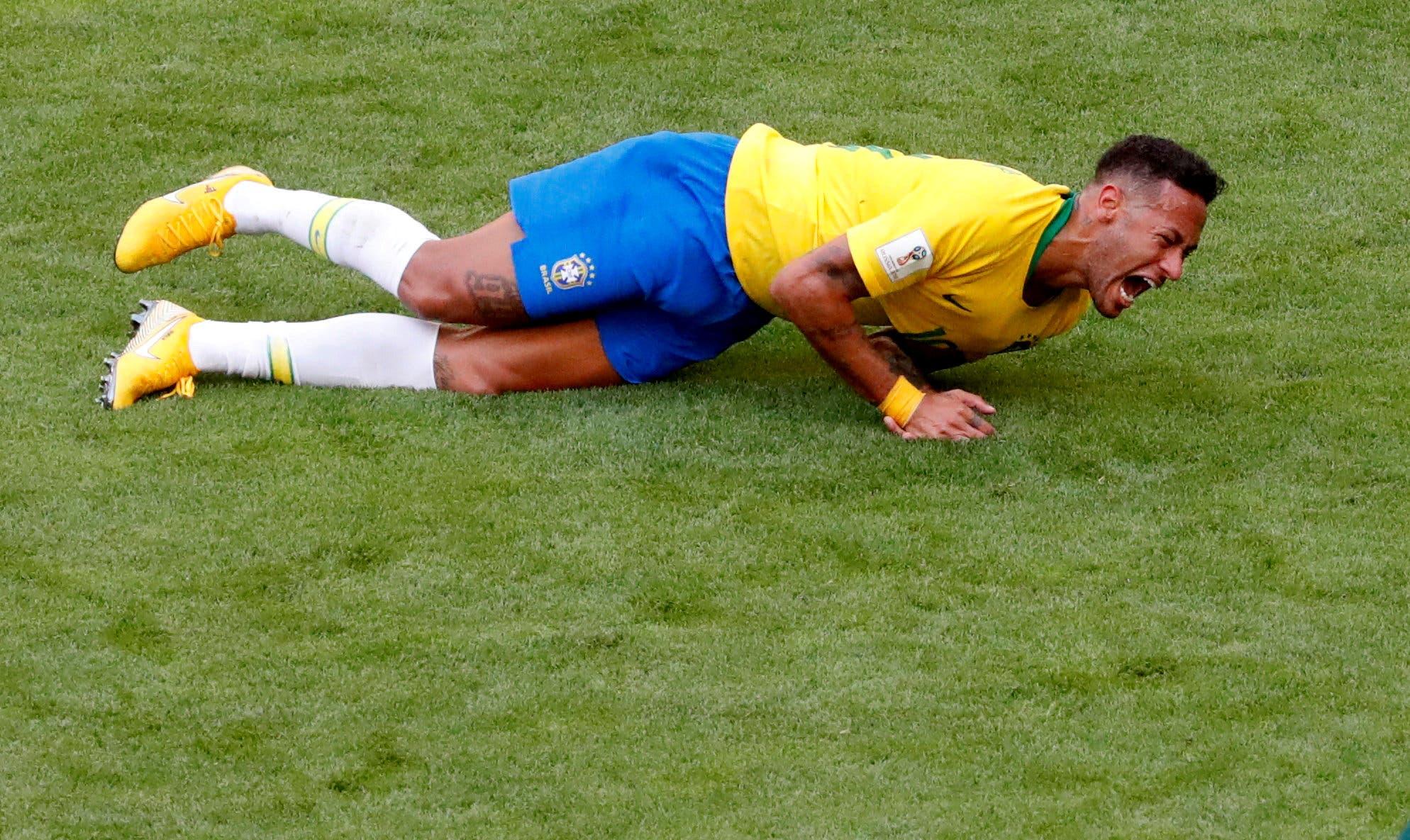 نيمار لم يظهر بالشكل المأمول في كأس العالم 2018