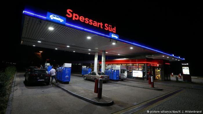 پمپبنزین محل دستگیری اسدی در جنوب آلمان