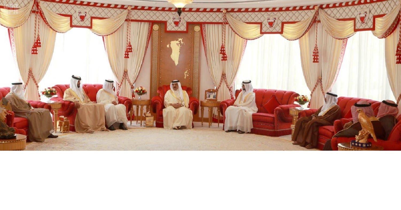 Bahrain King. (SPA)