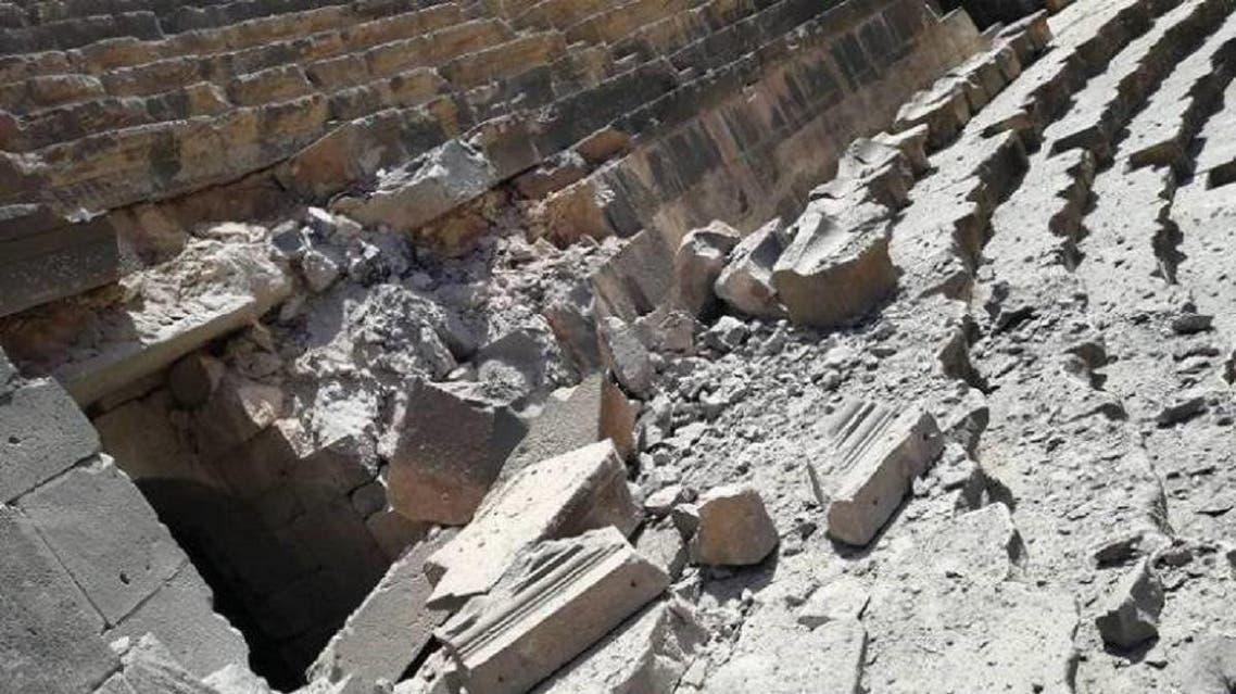 Damage to Bosra 1