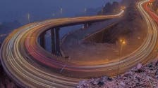 IN PICTURES: Saudi's al-Hada roads hanging between clouds and mountains