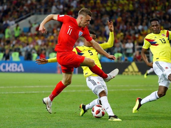 فاردي يغيب عن تدريب إنجلترا قبل مواجهة السويد