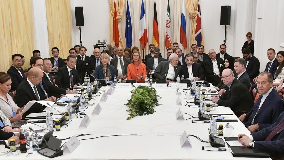 اجتماع فيينا النووي بشأن اتفاق إيران