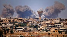 Syrian regime intensifies shelling of 'Triangle of Death' around Daraa
