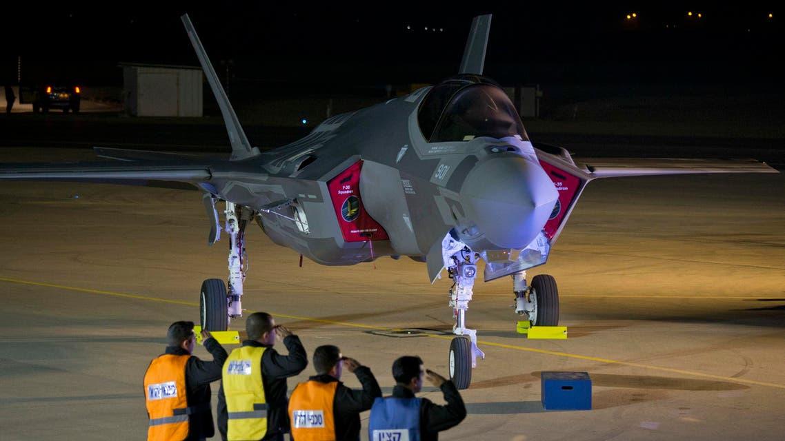 Israeli fighter jet (Supplied)