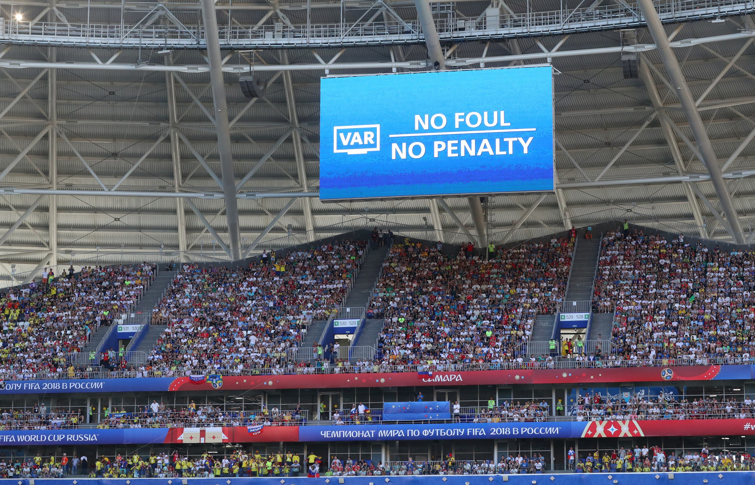 VAR World Cup Russia (Reuters)
