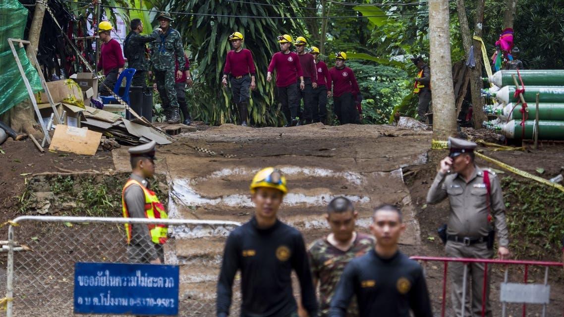 العمل لإنقاذ أطفال الكهف مستمر وأكثر من 100 عملية حفر