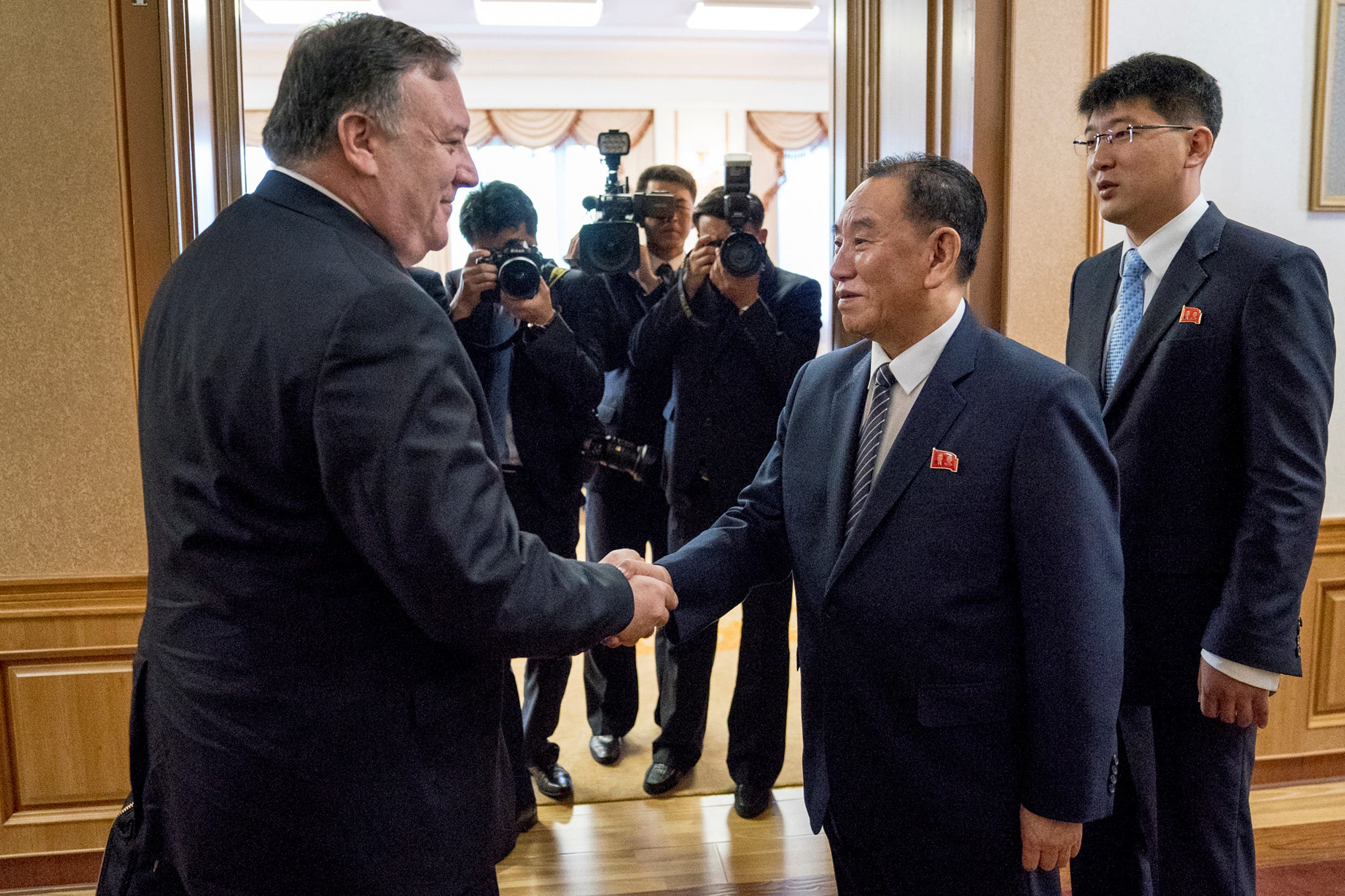 Pompeo N.Korea (Reuters)