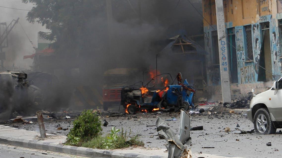 somalia explosion 7 July (AP)