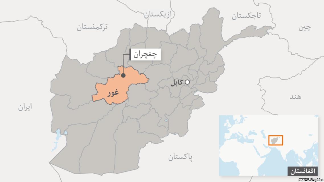 یک روستا در ولایت غور افغانستان بدست طالبان سقوط کرد