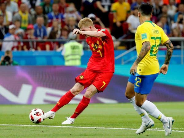 نجوم بلجيكا يقصون البرازيل.. ونيمار ينفجر باكياً