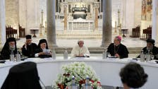 Pope Francis decries 'murderous indifference' in Mideast