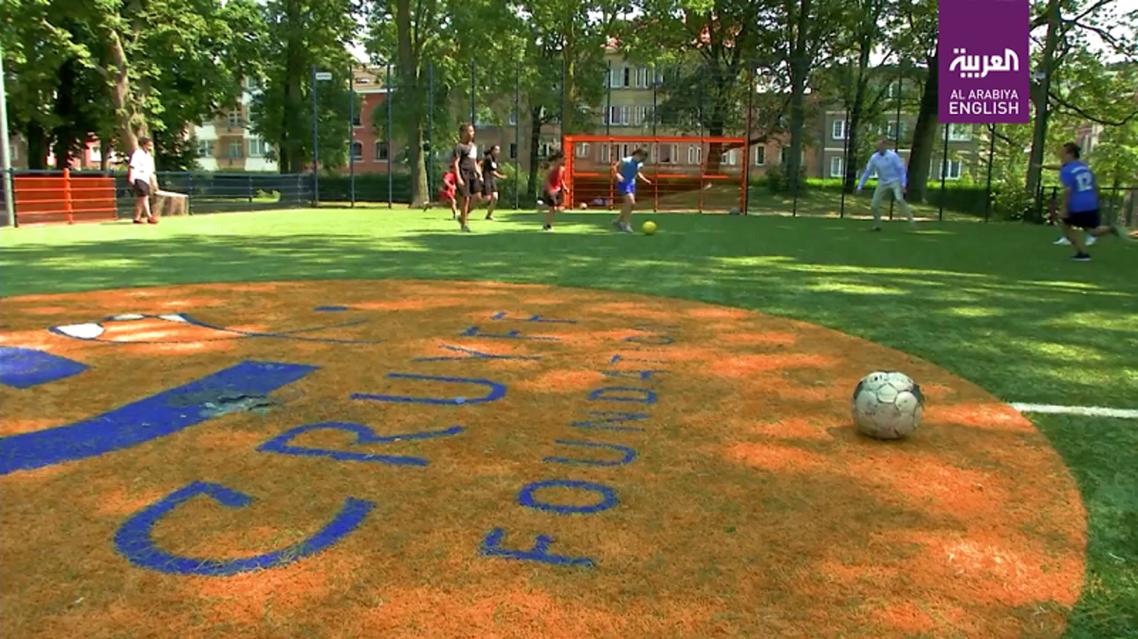 Molenbeek's Cruyff Court hopes to find Belgium's next rising football star