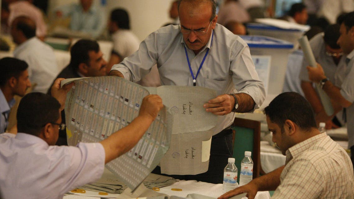 recounts of iraqi elections (AFP)
