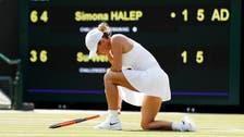 Hsieh casts spell on Halep to cause Wimbledon shock