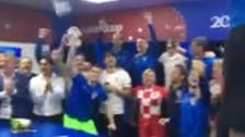 WATCH: Croatia's president dances with team after victory against Russia