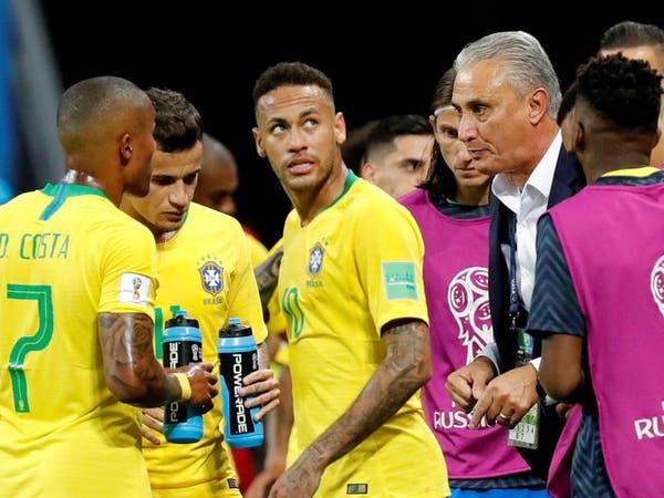 نجوم البرازيل يطلبون استمرار المدرب تيتي
