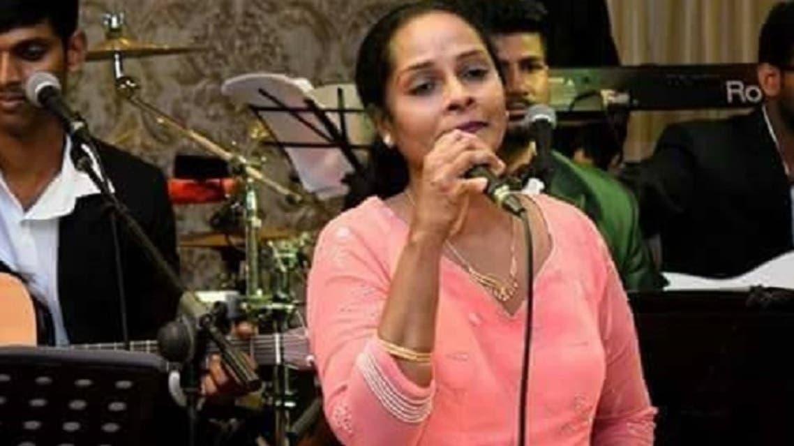سيرلانكا مغنية