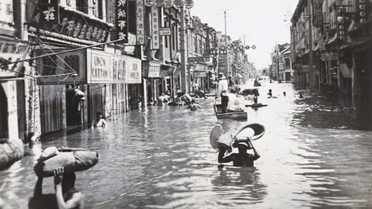 د شلمې پیړۍ تر ټولو وژونکی سیلاب چې ۴ میلیونه وګړي یې وژلي