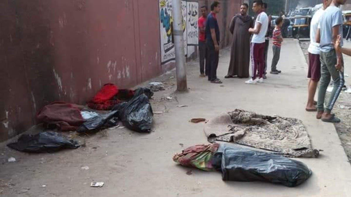 جثث اطفال أكياس القمامة