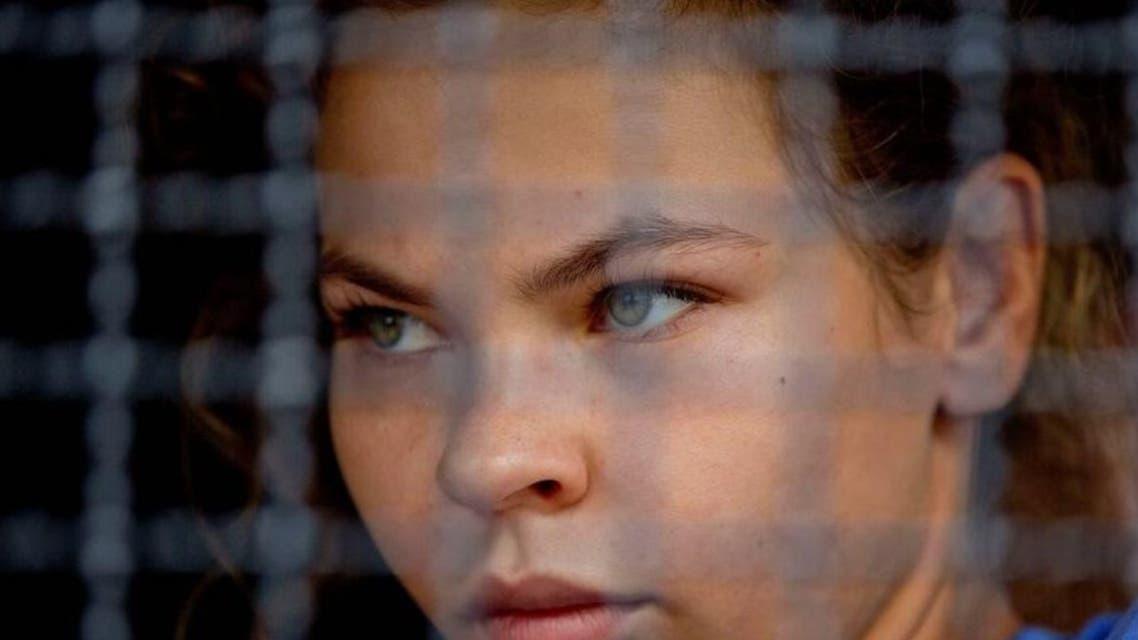 Russian model Anastasia Vashukevich