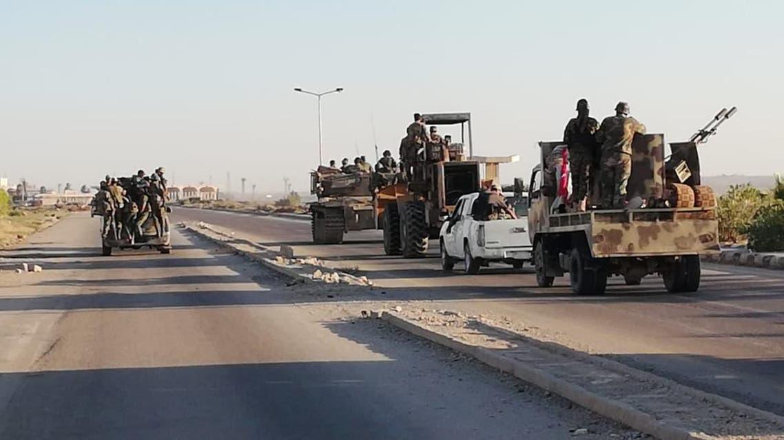 مخالفان:نیروهای دولتی سوریه با نقض آتشبس به کنترل کامل درعا نزدیک میشوند