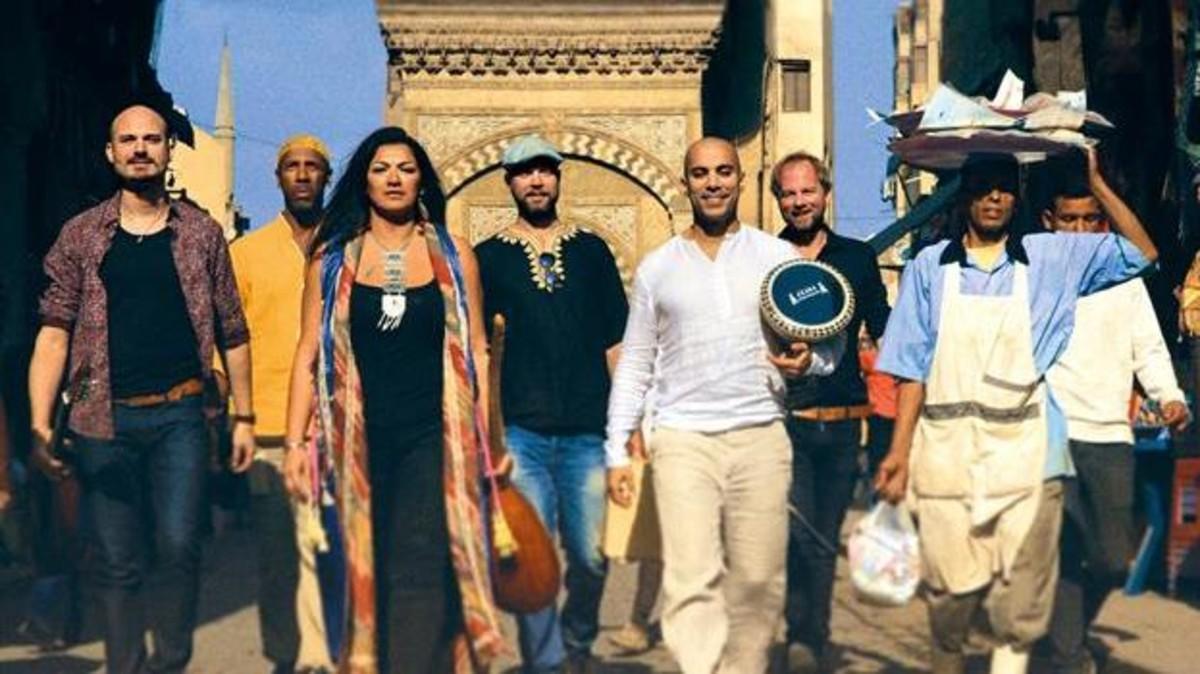 فرقة موسيقية عربية في السويد