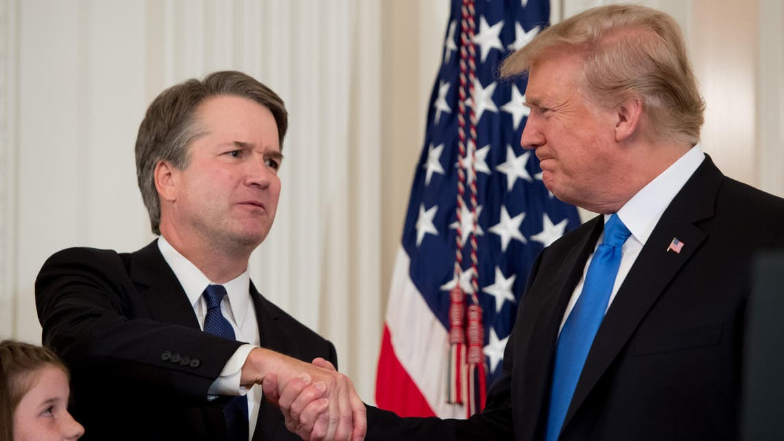 Trump nominates Brett Kavanaugh (AFP)