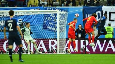 أومتيتي يطير فوق لاعبي بلجيكا ويؤهل فرنسا إلى النهائي