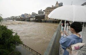 من فيضانات اليابان
